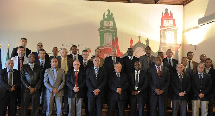 Lamego recebeu a visita de delegações militares dos países lusófonos