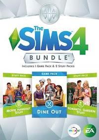 De Sims 4 Dine Out boxart