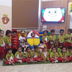 Humpty Dumpty Rhyme Enactment by Nursery Morning Section at Witty World, Chikoowadi (2018-19)