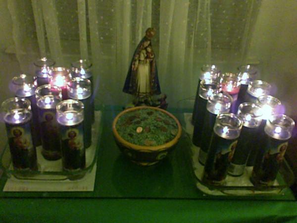 The Lit Prosperity Altar, Candle Magic