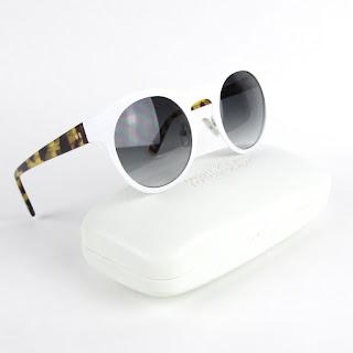 Derek Lam White Sunglasses