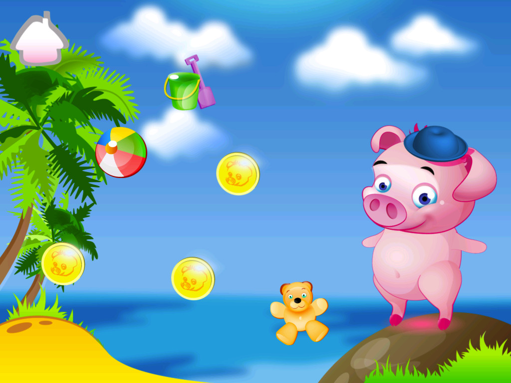 Pogo Pig Savings Application Play