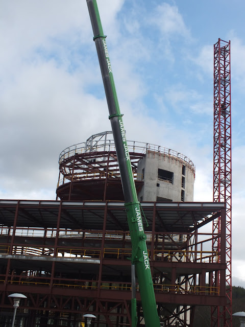 Tower Crane Removal, Garthdee