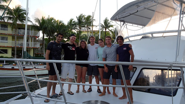 the crew in Key Largo, Florida, United States