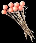 Pink head pins