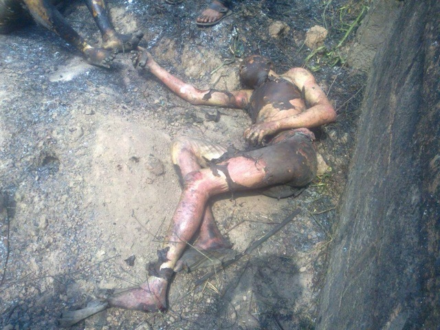 PHOTOS: Over 100 Die In Nnewi Gas Plant Explosion 8