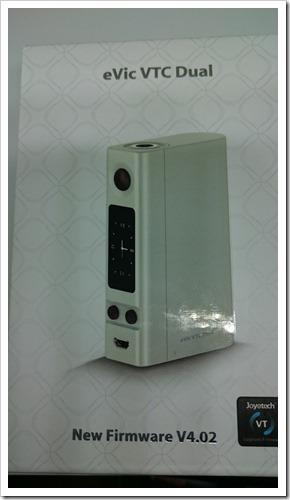 DSC 3846 thumb%25255B2%25255D - 【MOD】「Joyetech eVic VTC Dual MOD」レビュー!大は小を兼ねる!?【デュアルバッテリー/カスタムファームウェア対応】
