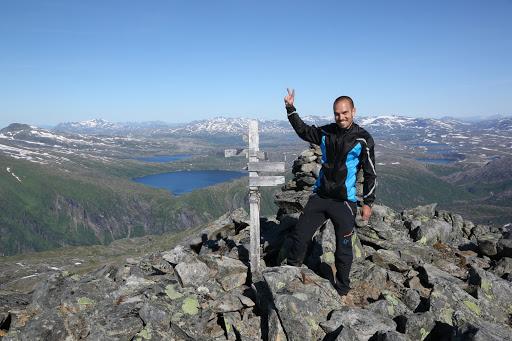 Na vrchole Middagstuva