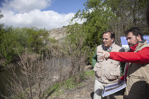 Restauración del 'Soto de las Juntas' en Rivas-Vaciamadrid
