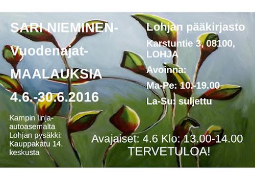 Sari Nieminen - Vuodenajat maalauksia