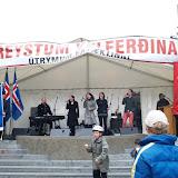 Kristín Á. Guðmundsdóttir ræðumaður á Ingólfstorgi 1. maí 2006