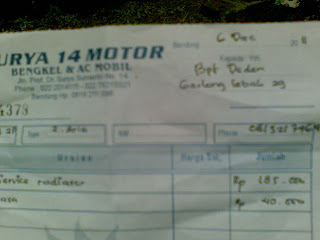 3dt Report Service Ac Dan Radiator Serta Ganti Koil Dan