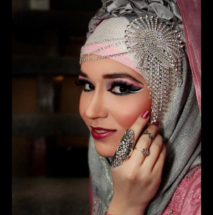 Arabian Hijab Styles