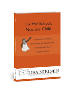 Book cover: Fix the school, not the child