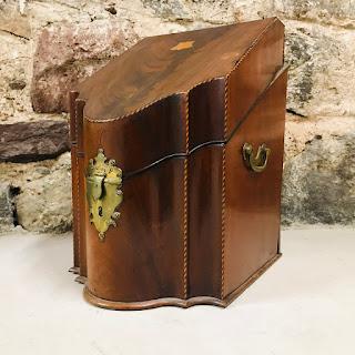 George III Serpentine Knife Box