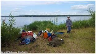 Озеро Пено. Стоянка
