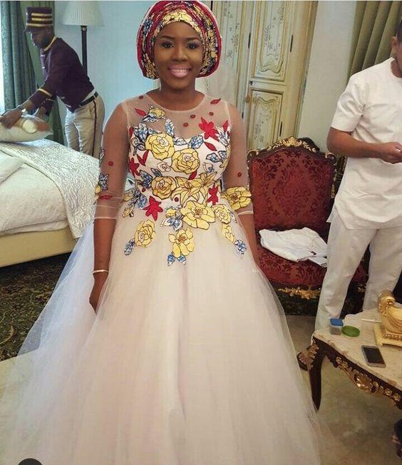 Amazing Long Stunning Sepedi Wedding Dresses 2018 1