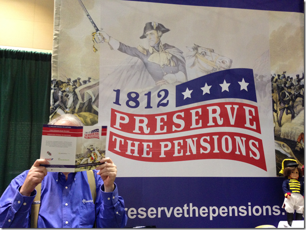 祖先内幕内幕支持1812年战争的养老金应用。