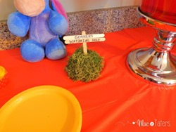 Winnie the Pooh Birthday Party Food Ideas: Gopher's Watering Hole