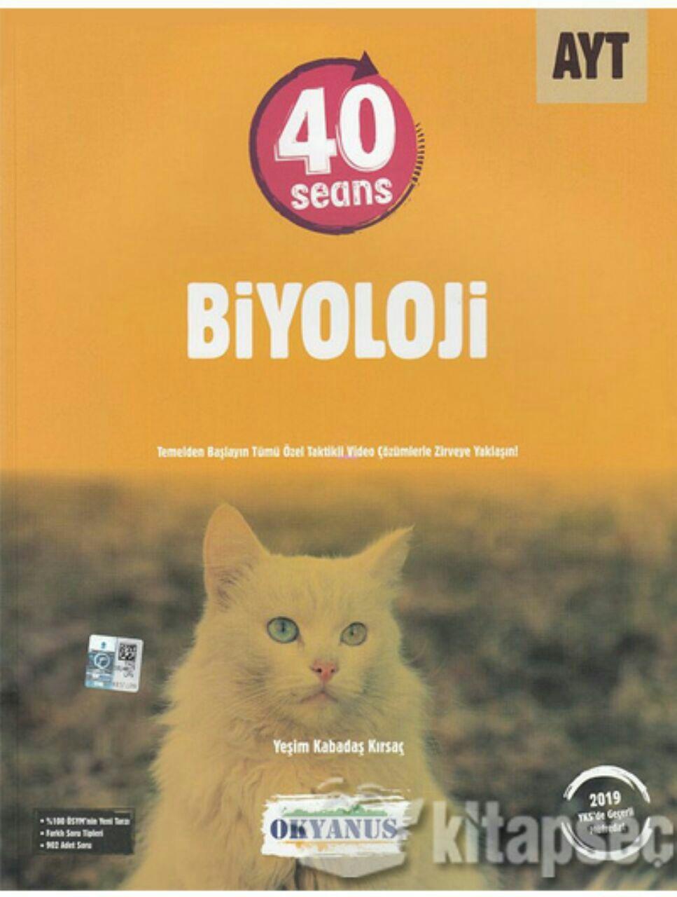 Okyanus Yayınları 40 Seansta AYT Biyoloji