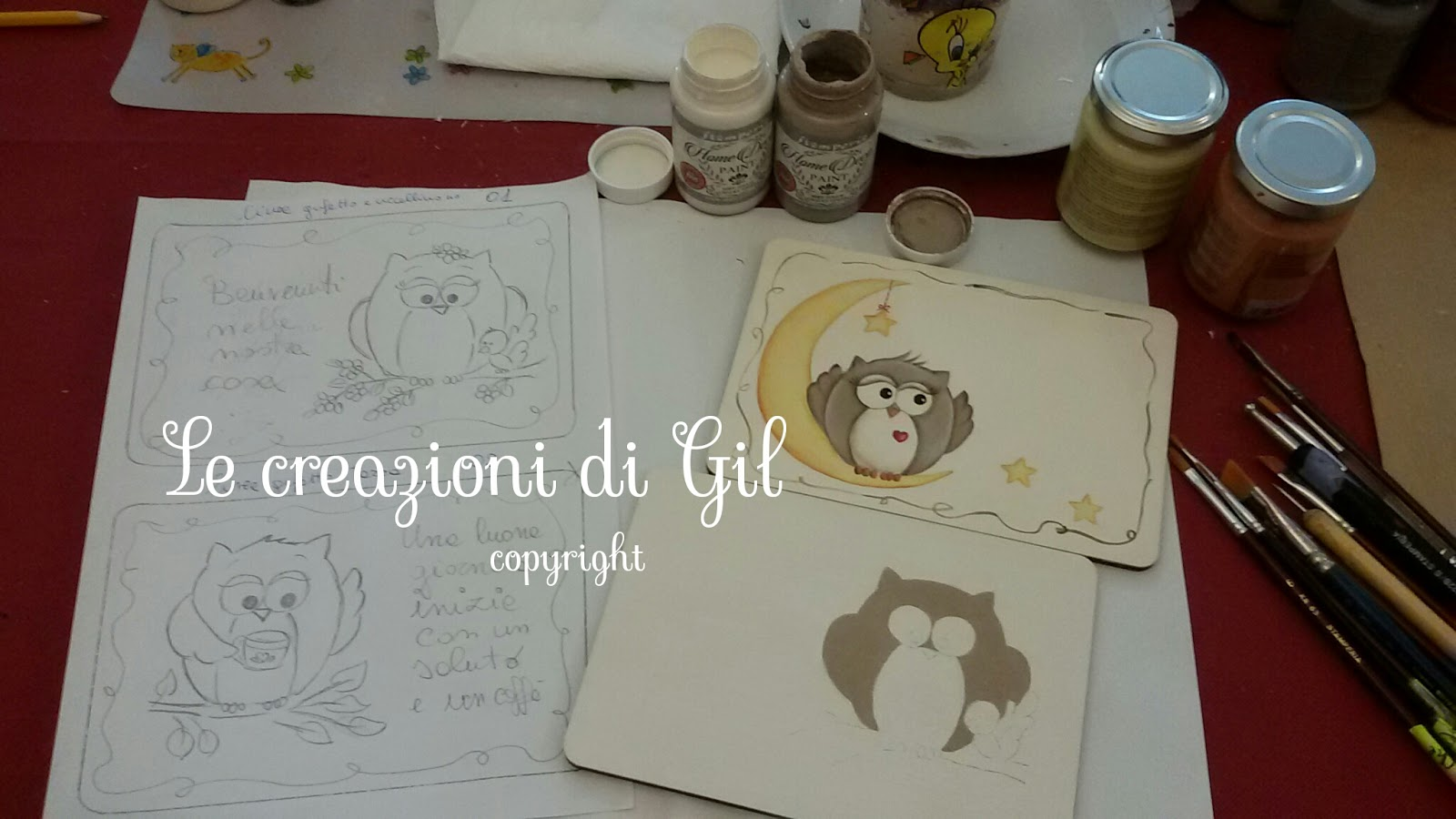 Gil arte country le creazioni di gil work in progress for Progress catalogo 2015