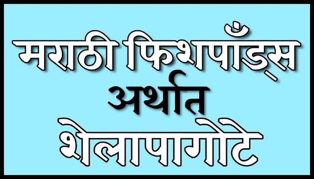 गमतीदार Marathi new Fishponds 2020 | शेलापागोटे नवीन २०२० | Shelapagote navin | latest fishponds 2020