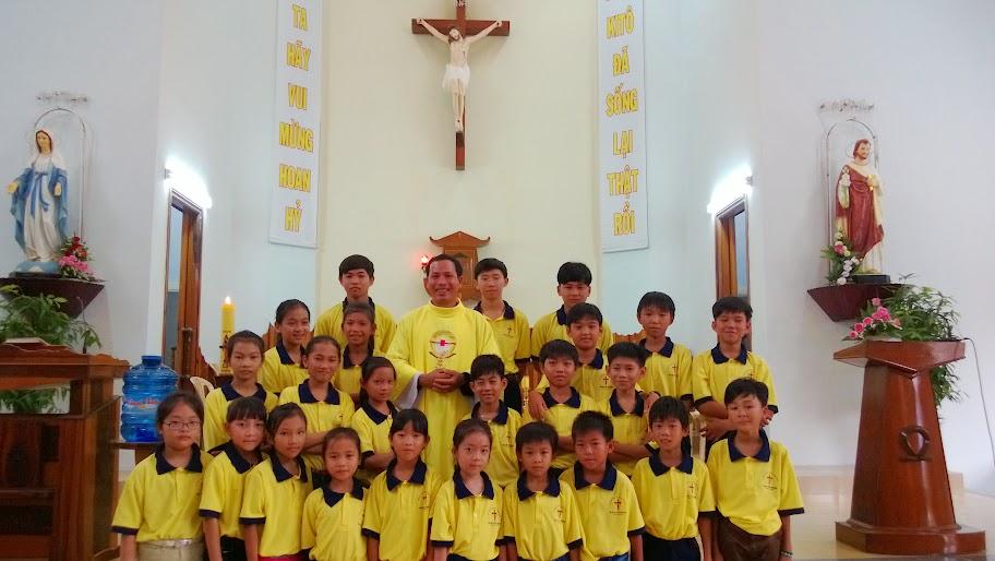 Gx Ninh Trang mừng Lễ Phục Sinh 2015