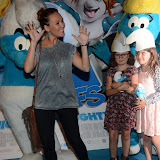 WWW.ENTSIMAGES.COM -  Charlie Brooks   at       The Smurfs 2 - gala film screening at Vue West End (Leicester Square), London, July 28th 2013                                                  Photo Mobis Photos/OIC 0203 174 1069