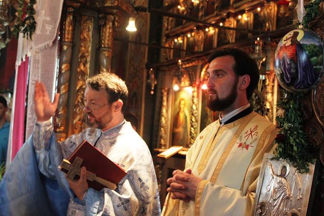 19 iulie - Sf. Liturghie la Duminica vindecării celor doi orbi și a unui mut din Capernaum