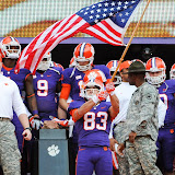 Clemson vs The Citadel - Rodriguez leads team down the Hill Photos