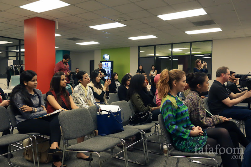 Audience of the Fashion Pitch Competition