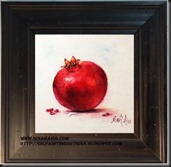 Framed Pomegranate
