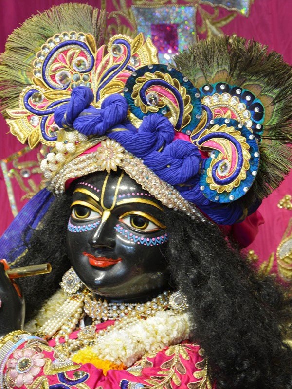 ISKCON Ahmedabad Deity Darshan 12 Mar 2016 (4)