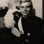 John Robert Rich, Sr. wearing Knights of Columbus uniform Husband of Anna Maria Gleaves, daughter of Charles Wythe Gleaves