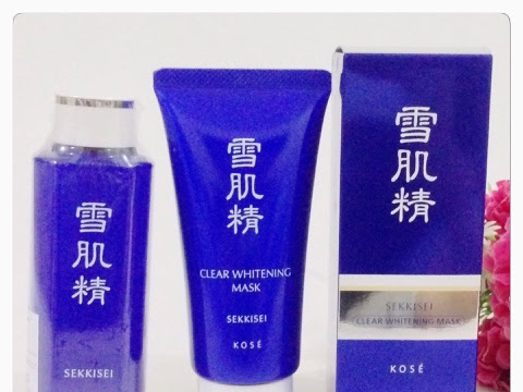 [Review] KOSÉ Sekkisei Clear Whitening Mask and Sekkisei Lotion