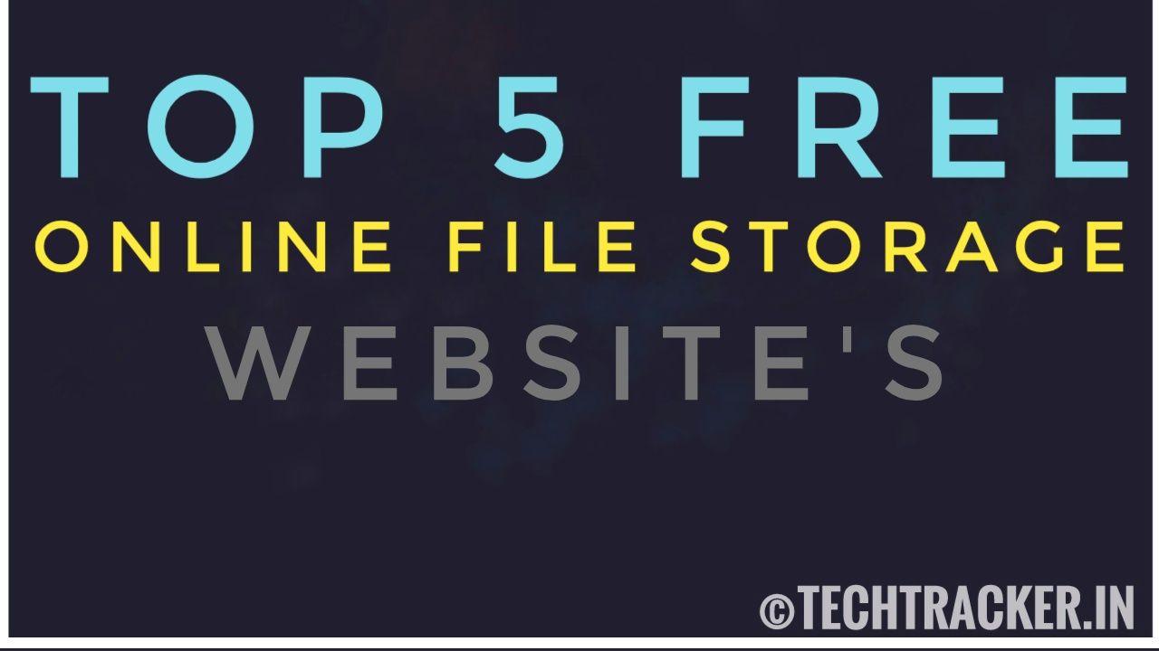 Top 5 Free Online File Storage Websites