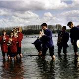 Fotoshoot aan de Nieuwdonk 1999