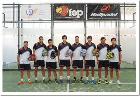 Federación Española Masculina de Pádel 2018