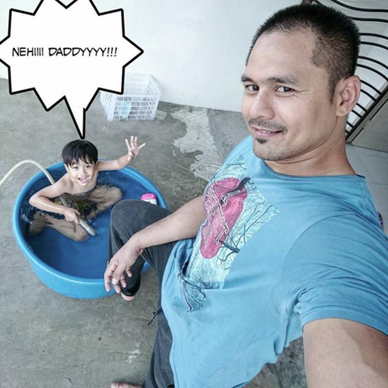 Abiskan masa bersama anak..