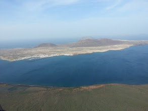 Photo: la graciosa is the smallest settled canary island, http://jarogruber.blogspot.de/2016/01/lanzarote.html