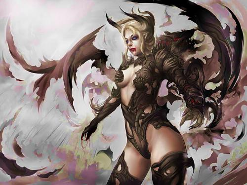 Demoness Fantasy Girl, Demonesses
