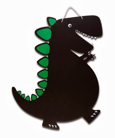 fiesta crafts dinosaur chalk board