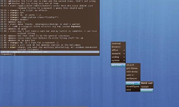 Cómo configurar un menú en Openbox con Obmenu