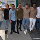 OIC - ENTSIMAGES.COM - Aaron Chalmers, Nathan Henry, Scott Timlin, Marty McKenna, James Tindale and Dan Thomas-Tuck at the The cast of MTV's Geordie Shore celebrates five years of the hit show 24th May 2016 Photo Mobis Photos/OIC 0203 174 1069