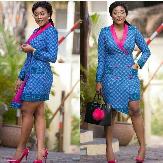 mishono ya vitenge nigeria Trends 2018 1