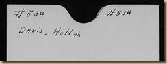 Hulda Davis Probate