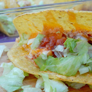 Baked Chicken Ranch Tacos