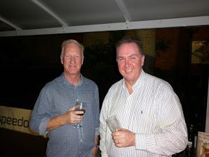 Trev and Jon enjoying the night