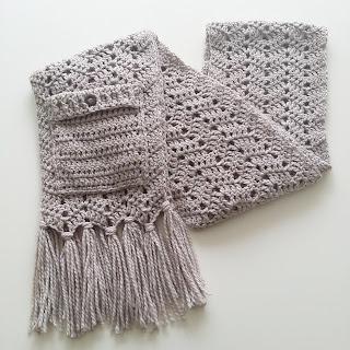 Haak Gelukjes Warme Sjaal