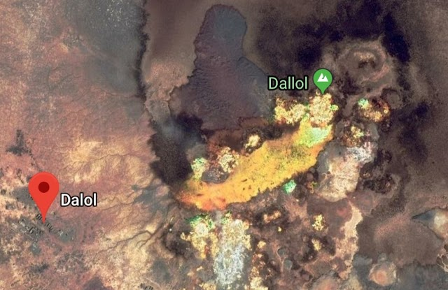Dallol most uninhabitable place on the earth